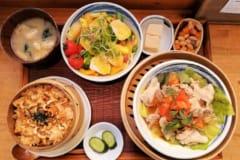 自社ファーム産の野菜を使った安心・安全の蒸し料理専門店「mus」